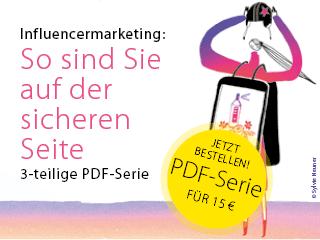 PDF-Serie Influencermarketing: So sind Sie auf der sicheren Seite