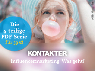 PDF-Serie: Influencermarketing: Was geht?