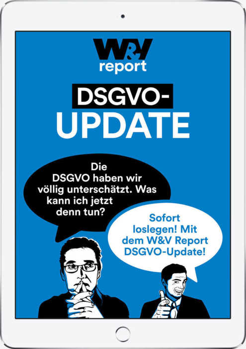 W&V Report DSGVO-Update
