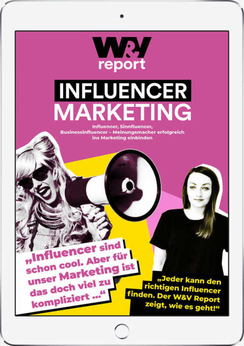 W&V Report Influencermarketing